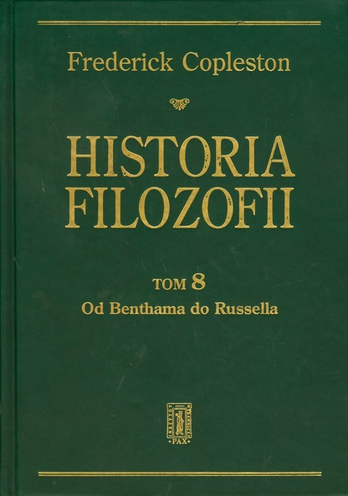 okładka Historia filozofii Tom 8, Książka | Copleston Frederick