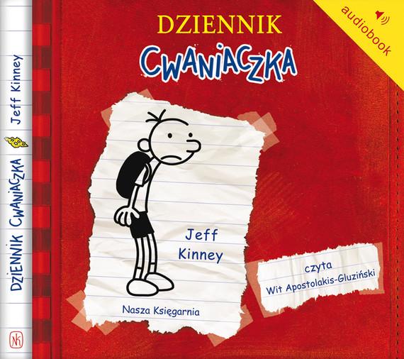 okładka Dziennik cwaniaczkaaudiobook | MP3 | Jeff Kinney