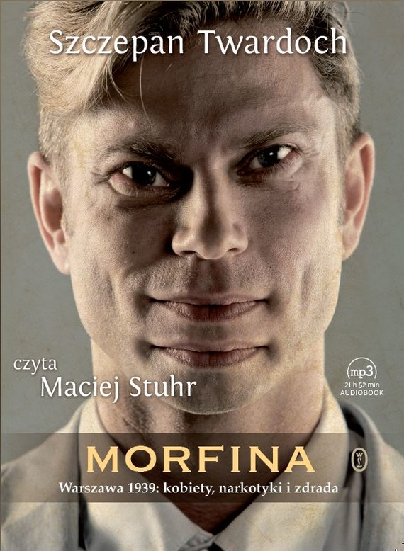 okładka Morfinaaudiobook | MP3 | Szczepan Twardoch