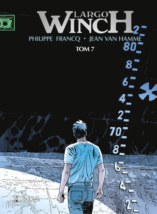 okładka Largo Winch Tom 7 wydanie zbiorcze, Książka | Hamme Jean Van, Philippe Francq