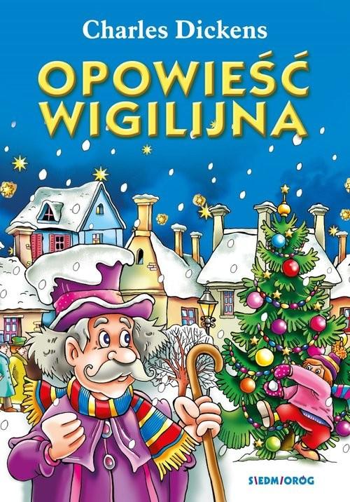 okładka Opowieść Wigilijna, Książka | Dickens Charles