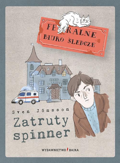 okładka Zatruty spinner, Książka | Jönsson Sven
