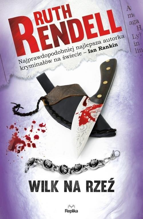okładka Wilk na rzeź, Książka   Rendell Ruth
