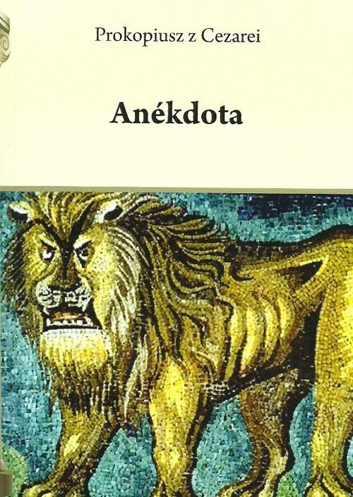 okładka Anekdota, Książka   z Cezarei Prokopiusz