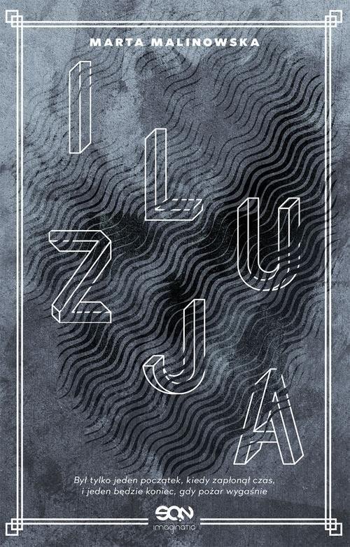 okładka Iluzja, Książka | Malinowska Marta