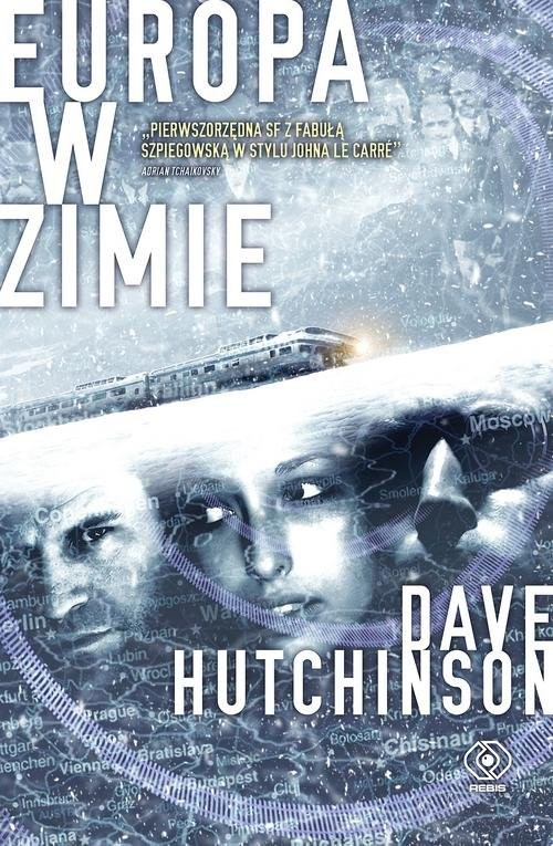 okładka Europa w zimie, Książka | Hutchinson Dave
