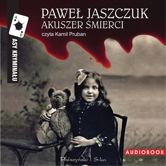 okładka Akuszer śmierciaudiobook | MP3 | Paweł Jaszczuk