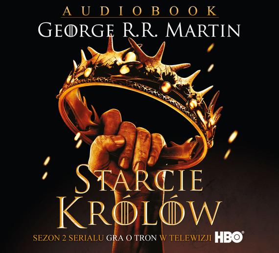 okładka Starcie królów audiobook, Audiobook |