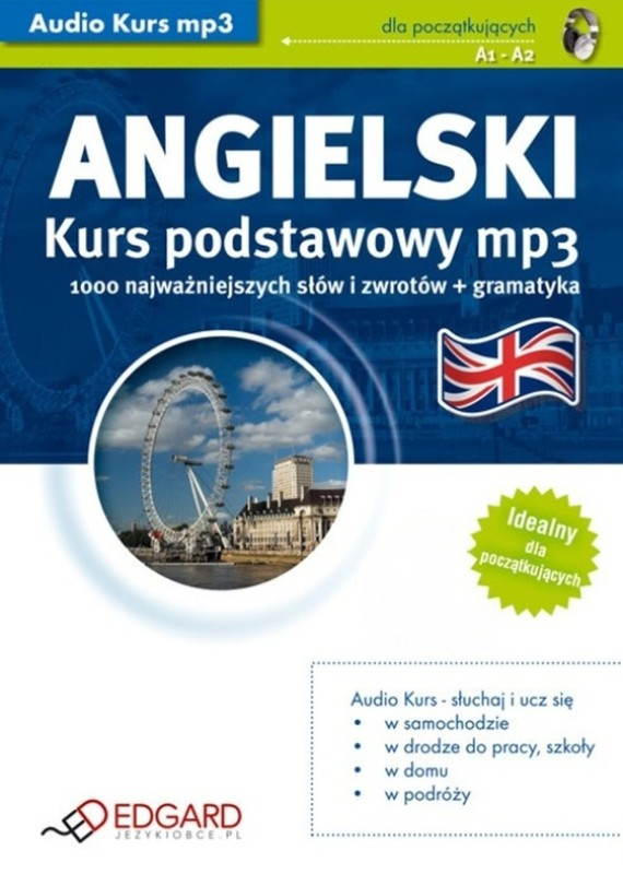 okładka Angielski Kurs podstawowyaudiobook | MP3 | autor zbiorowy