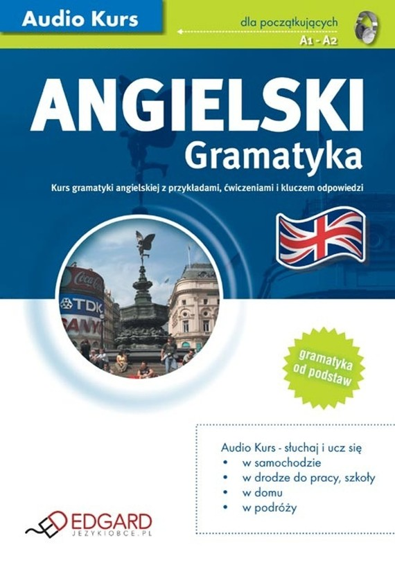 okładka Angielski Gramatykaaudiobook | MP3 | autor zbiorowy