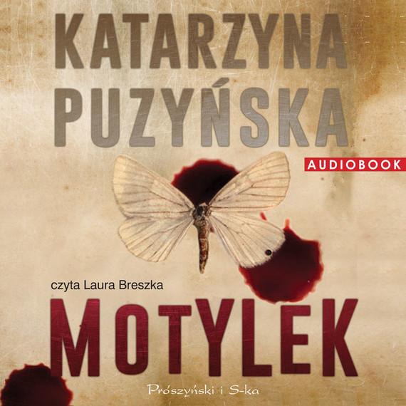 okładka Motylekaudiobook   MP3   Katarzyna Puzyńska