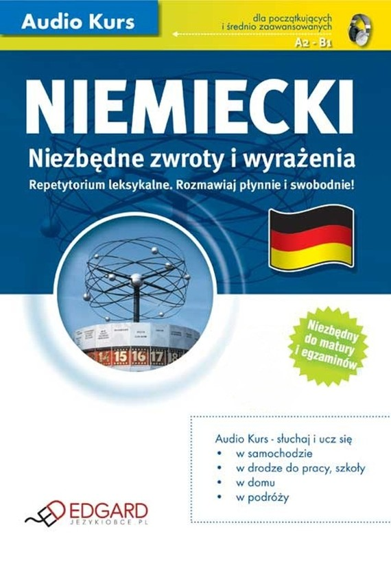 okładka Niemiecki - Niezbędne zwroty i wyrażeniaaudiobook | MP3 | autor zbiorowy