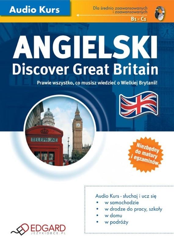okładka Angielski - Discover Great Britain, Audiobook | autor zbiorowy