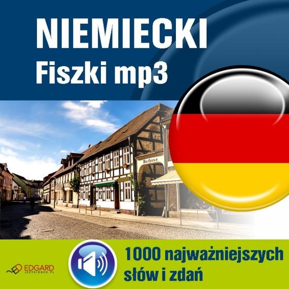 okładka Niemiecki Fiszki mp3 1000 najważniejszych słów i zdańaudiobook | MP3 | autor zbiorowy