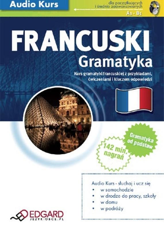 okładka Francuski Gramatykaaudiobook | MP3 | autor zbiorowy