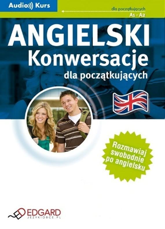 okładka Angielski - Konwersacje dla początkującychaudiobook | MP3 | autor zbiorowy