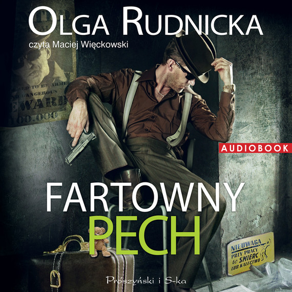 okładka Fartowny pechaudiobook   MP3   Olga Rudnicka