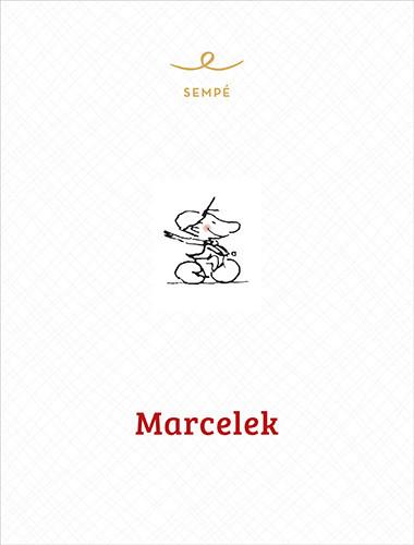 okładka Marcelek, Książka | Sempé Jean-Jacques