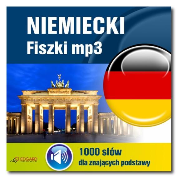 okładka Niemiecki Fiszki mp3 1000 słówek dla znających podstawyaudiobook | MP3 | autor zbiorowy