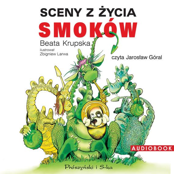 okładka Sceny z życia smoków, Audiobook | Beata Krupska