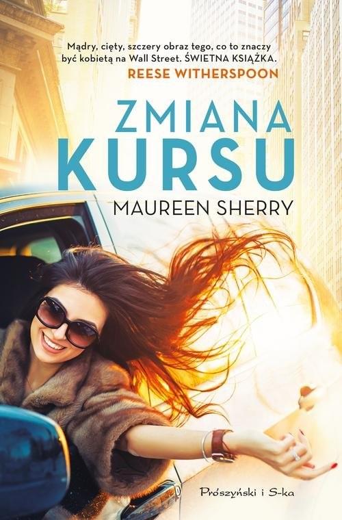 okładka Zmiana kursu, Książka   Sherry Maureen