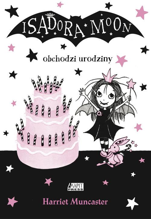 okładka Isadora Moon obchodzi urodziny, Książka | Muncaster Harriet