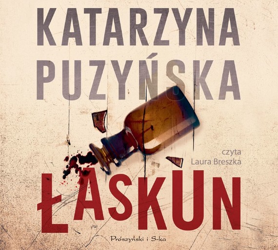 okładka Łaskun, Audiobook   Katarzyna Puzyńska