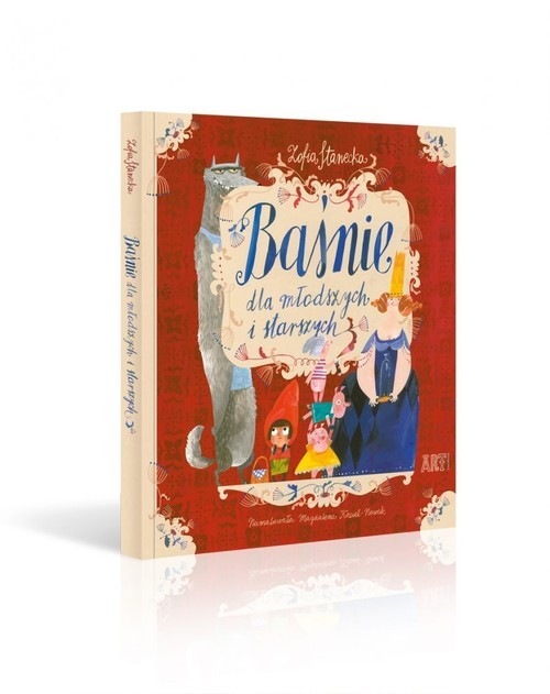 okładka Baśnie dla młodszych i starszych, Książka | Stanecka Zofia