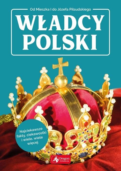 okładka Władcy Polski, Książka | Bąk Jolanta