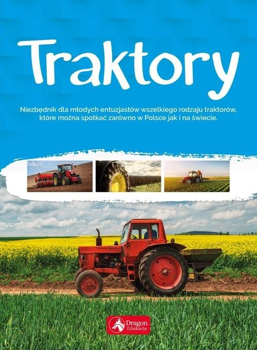 okładka Traktory, Książka | Tomas Justyna