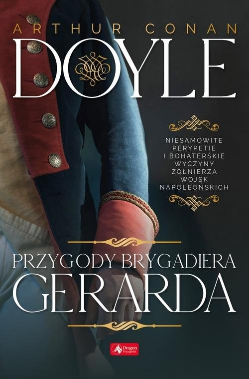 okładka Przygody brygadiera Gerarda, Książka | Arthur Conan Doyle