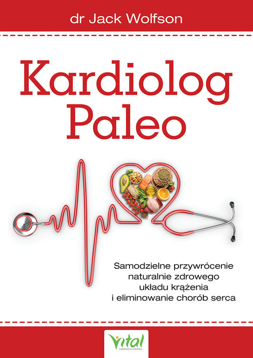 okładka Kardiolog Paleo, Książka | Wolfson Jack