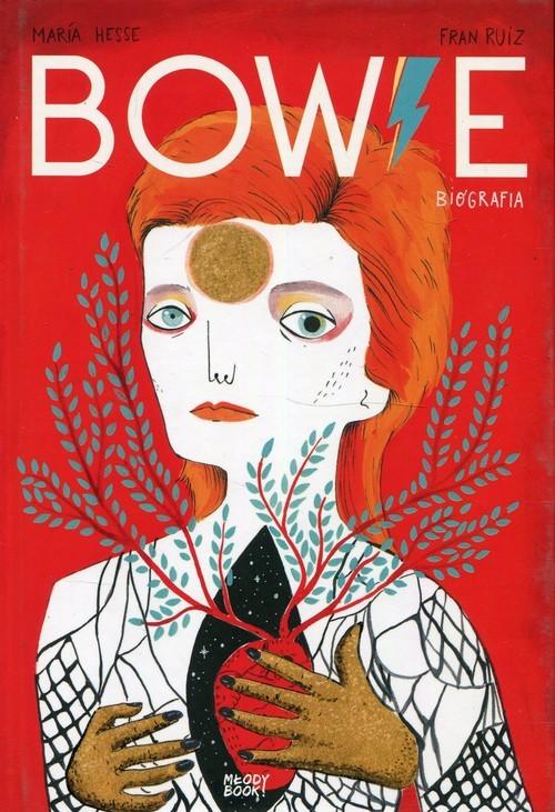okładka Bowie Biografia, Książka | Maria Hesse, Fran Ruiz