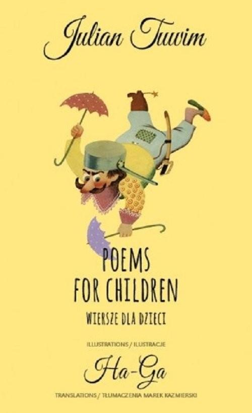okładka Poems for children Wiersze dla dzieci, Książka | Tuwim Julian