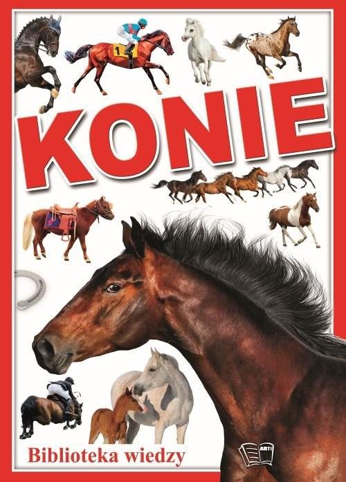 okładka Konie, Książka |