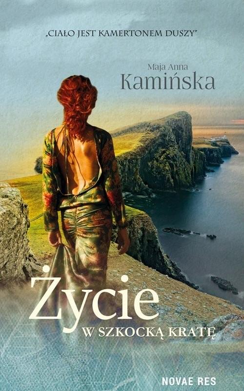okładka Życie w szkocką kratę, Książka   Kamińska, Anna Maja