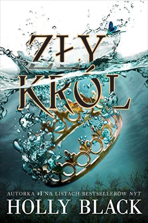 okładka Zły król, Książka | Black Holly
