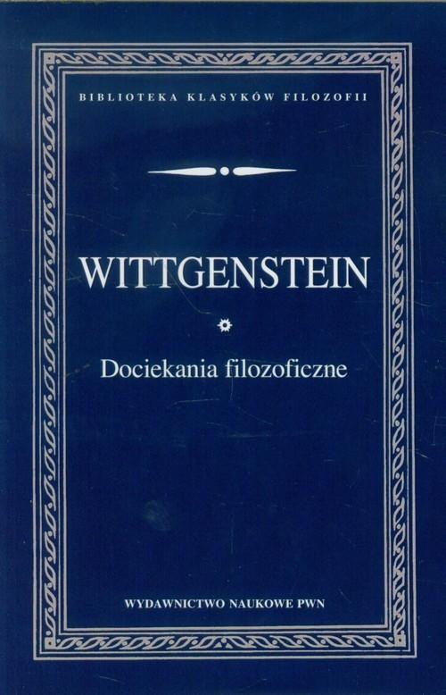 okładka Dociekania filozoficzne, Książka | Wittgenstein Ludwig