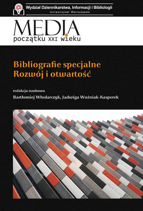 okładka Bibliografie specjalne Rozwój i otwartośćksiążka     