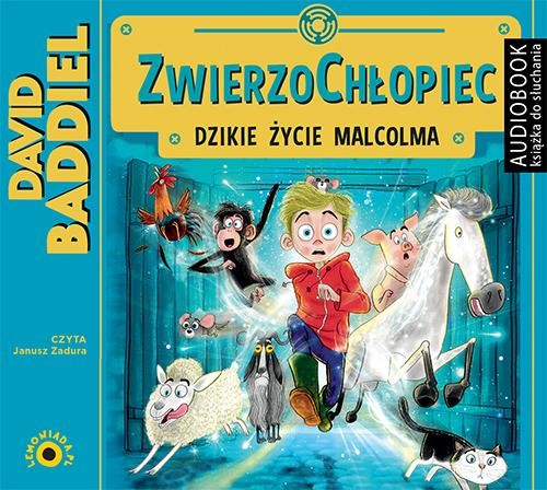 okładka ZwierzoChłopiec, Audiobook | David  Baddiel