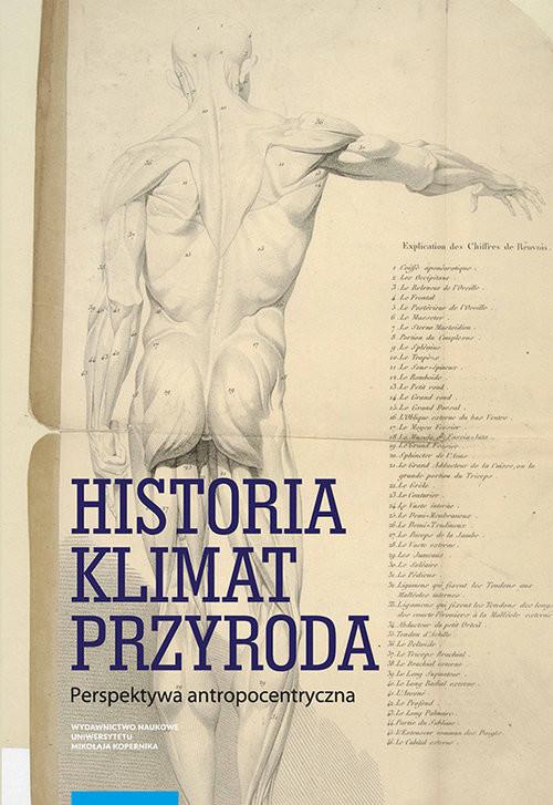 okładka Historia klimat przyroda, Książka | Mordawska Magdalena