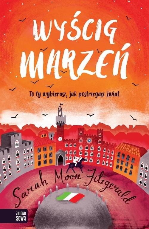 okładka Wyścig marzeń, Książka | Sarah Moore Fitzgerald
