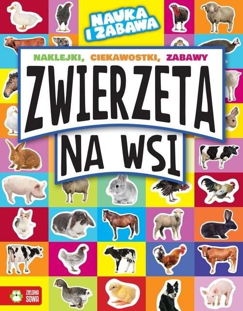 okładka Zwierzęta na wsi, Książka | Maruszczak Marta
