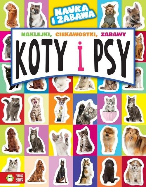 okładka Koty i psy, Książka | Maruszczak Marta