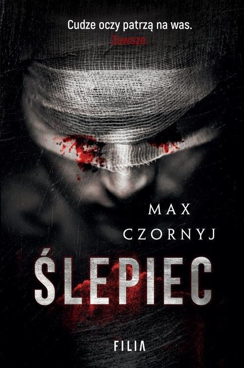 okładka Ślepiec, Książka | Czornyj Max