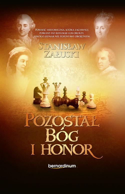 okładka Pozostał Bóg i Honor, Książka | Stanisław Załuski