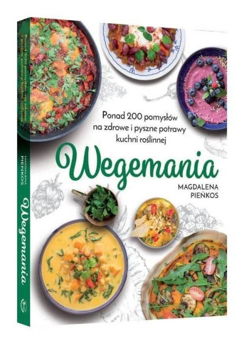 okładka Wegemania, Książka | Pieńkos Magdalena