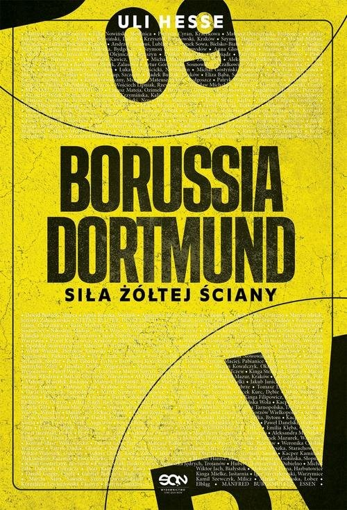 okładka Borussia Dortmund Siła żółtej ściany, Książka | Hesse Uli