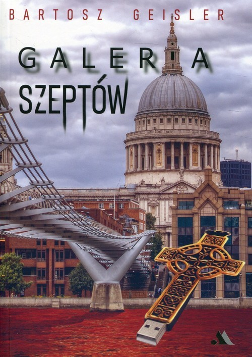 okładka Galeria szeptów, Książka | Geisler Bartosz
