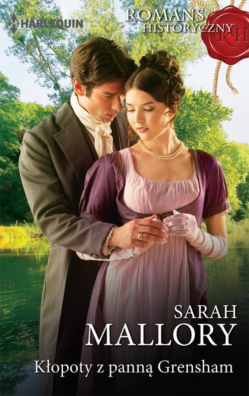 okładka Kłopoty z panna Grensham, Książka | Sarah Mallory